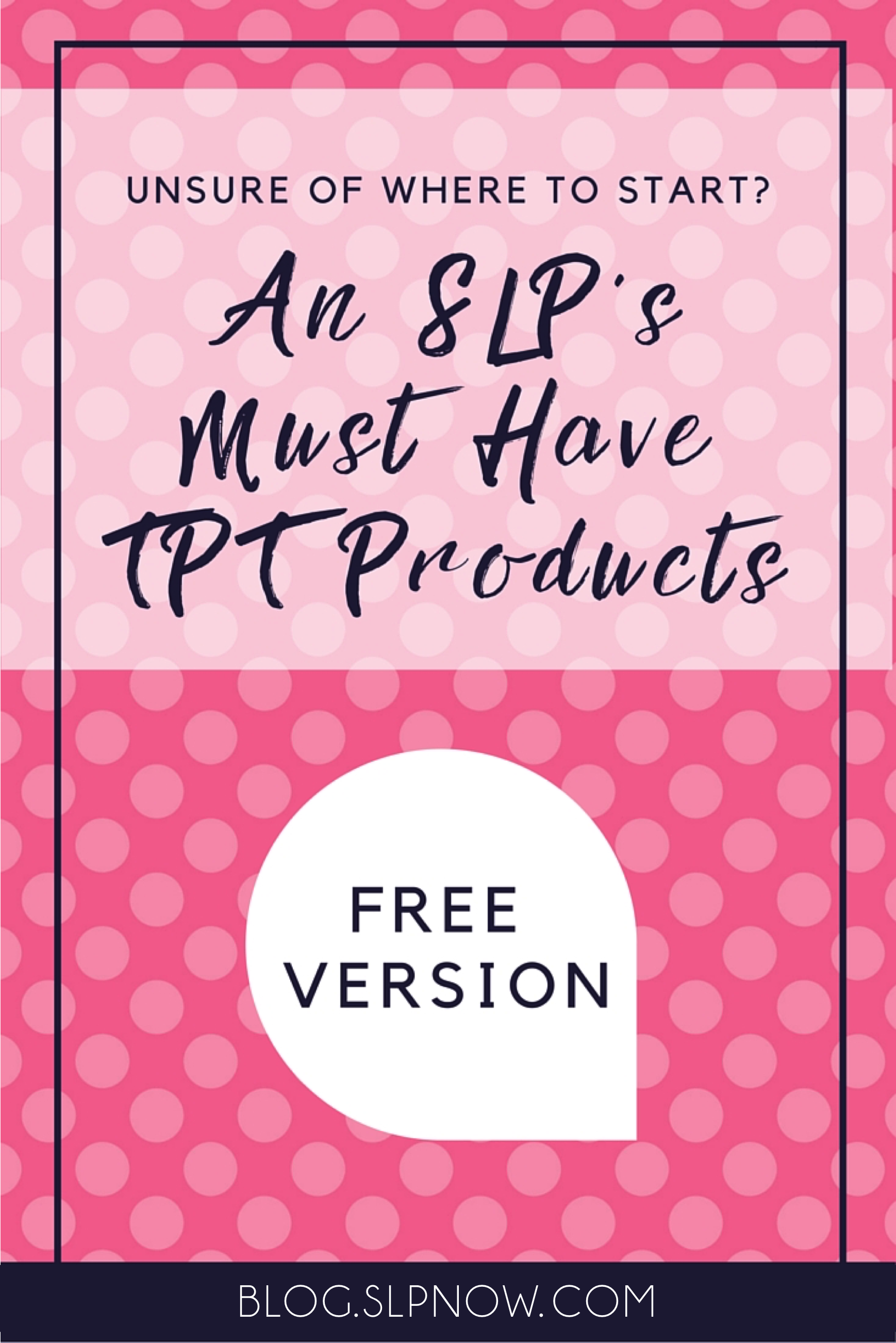 Let's be real: We all love some free TPT products! I'm sharing my top five favorite free TPT products for SLPs in this blog post, so click on through so you can learn about them and download them for yourself!