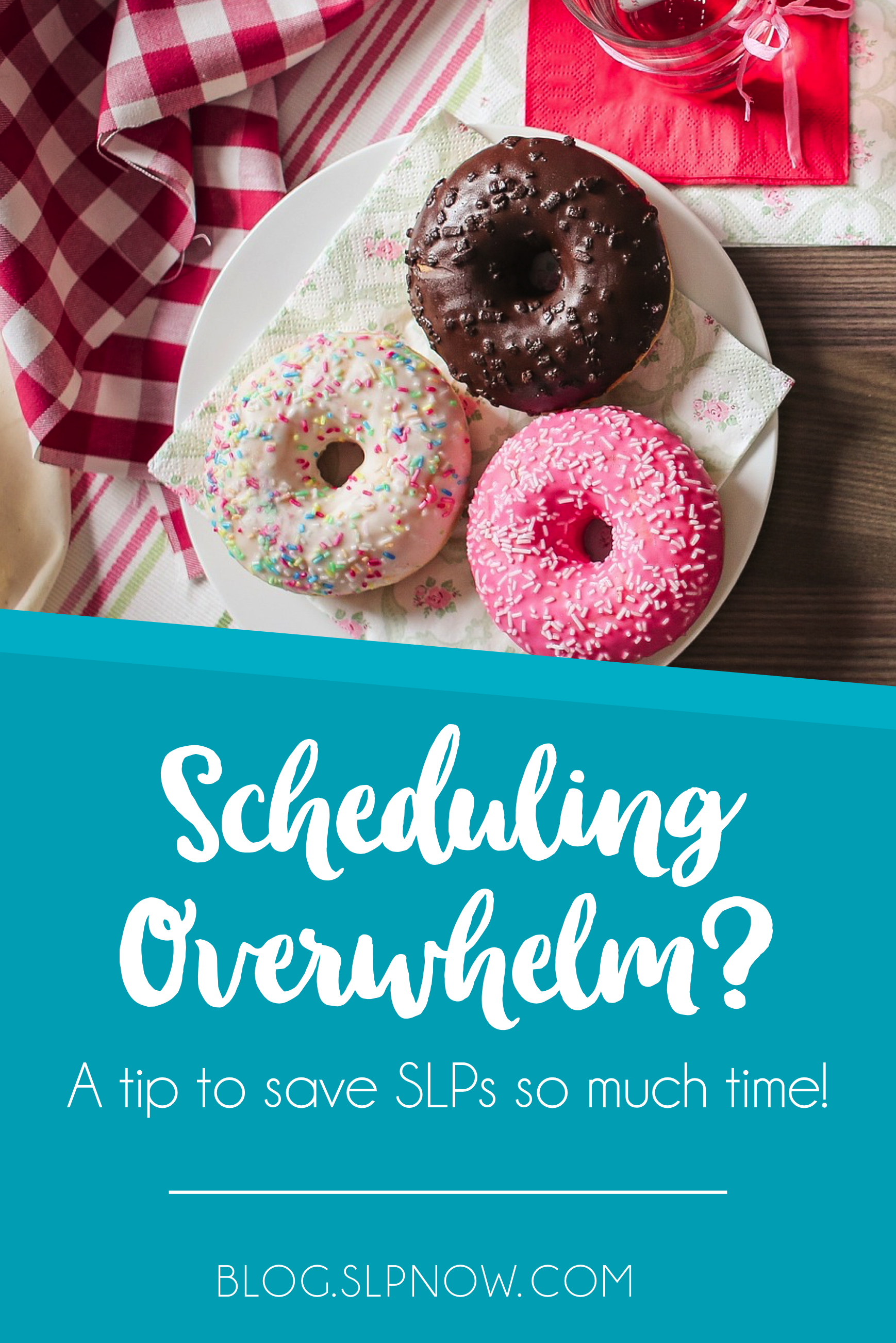 Is scheduling for your speech and language therapy an absolute nightmare? Try this on for size: a scheduling party! Invite the teachers of the students who will receive speech services to your room to help you schedule the best times for those students' therapies. I've even included a download to help you plan your scheduling party!