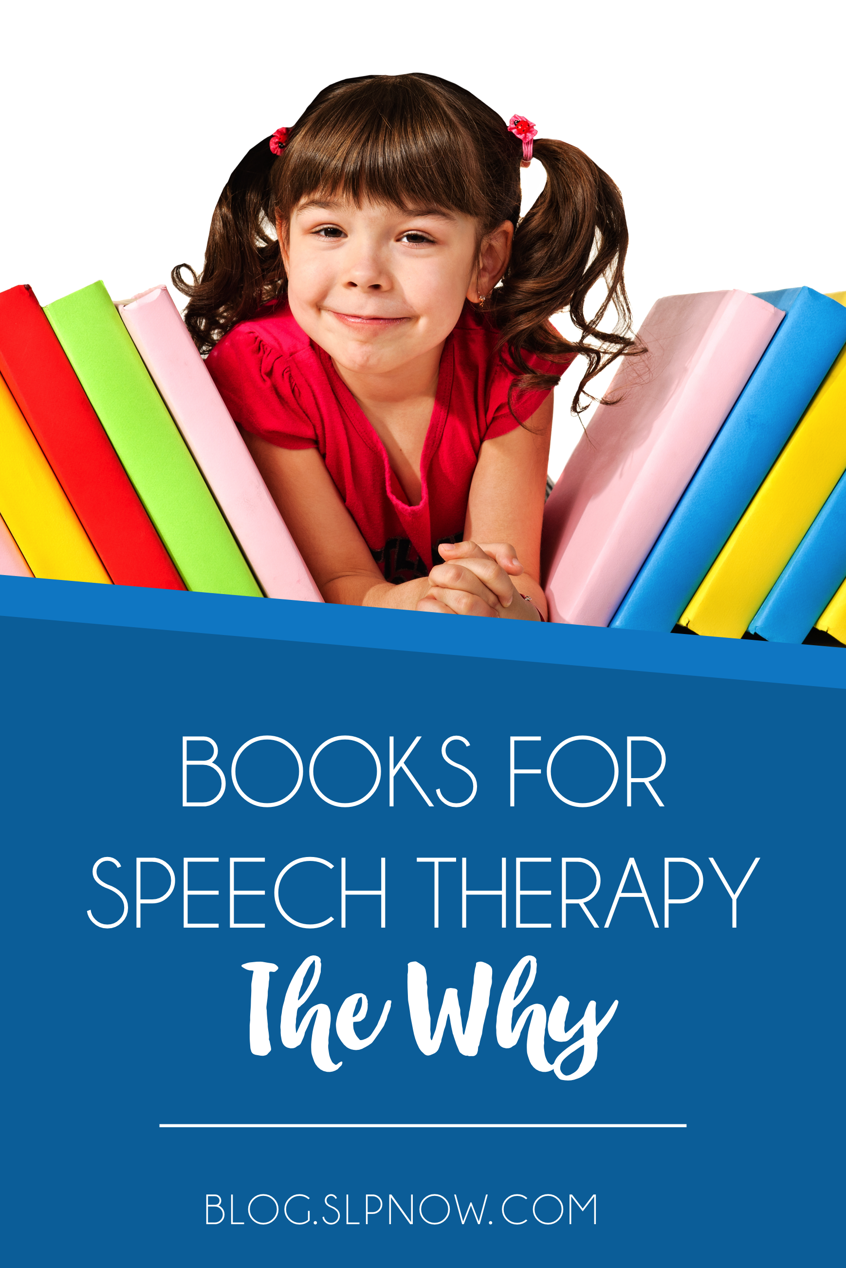 Do you use books in speech therapy? If not, then maybe I can convince you to start this practice with my list of five reasons why I love using books in speech therapy, which is inside this blog post. Click through to learn all five reasons, and prepare to be convinced!