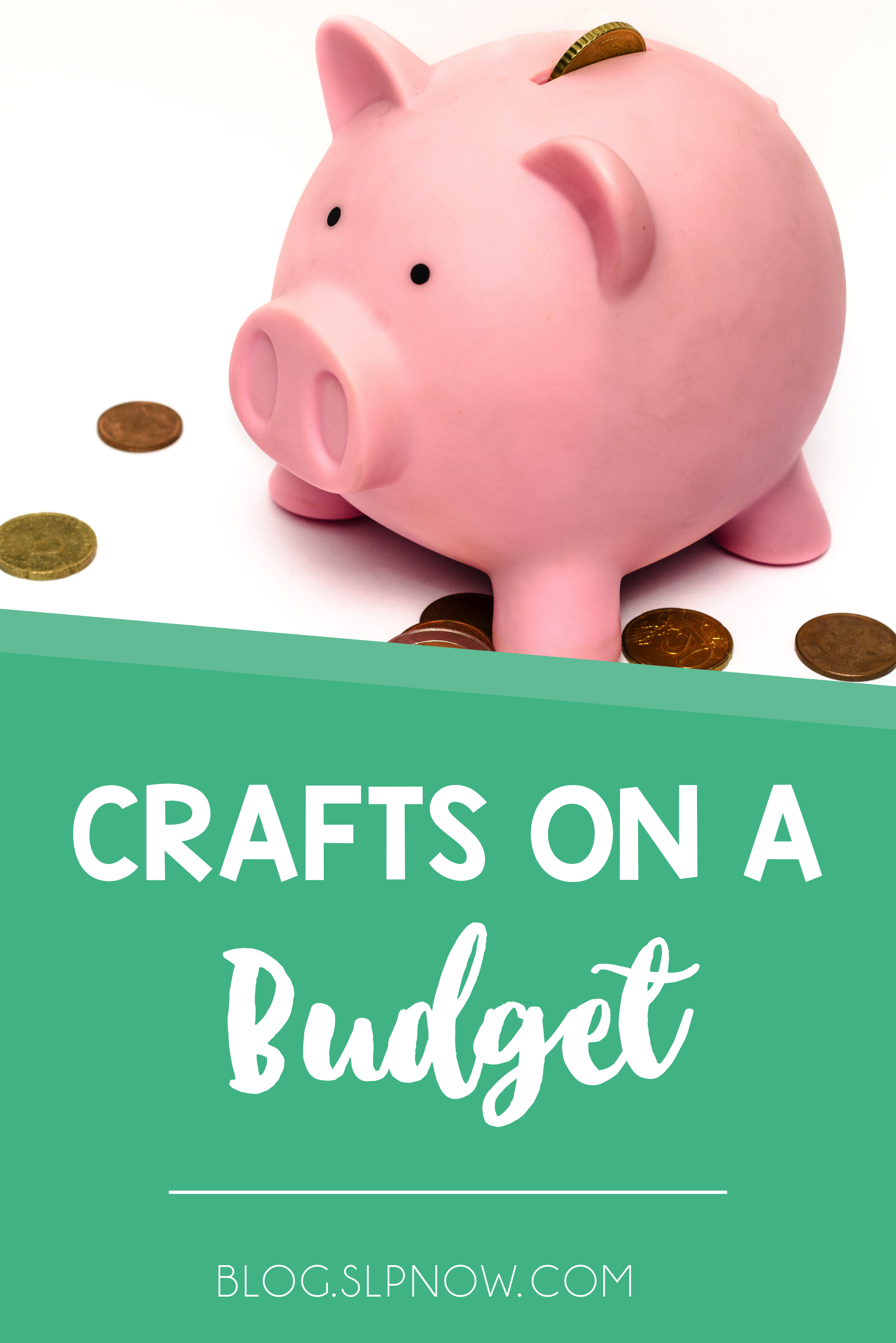 Are you an SLP who uses crafts for speech therapy? If not, then I hope you'll start using them after you read this post about craft materials on a budget! Crafting doesn't have to be expensive or time-consuming, and I'm here to show you how!