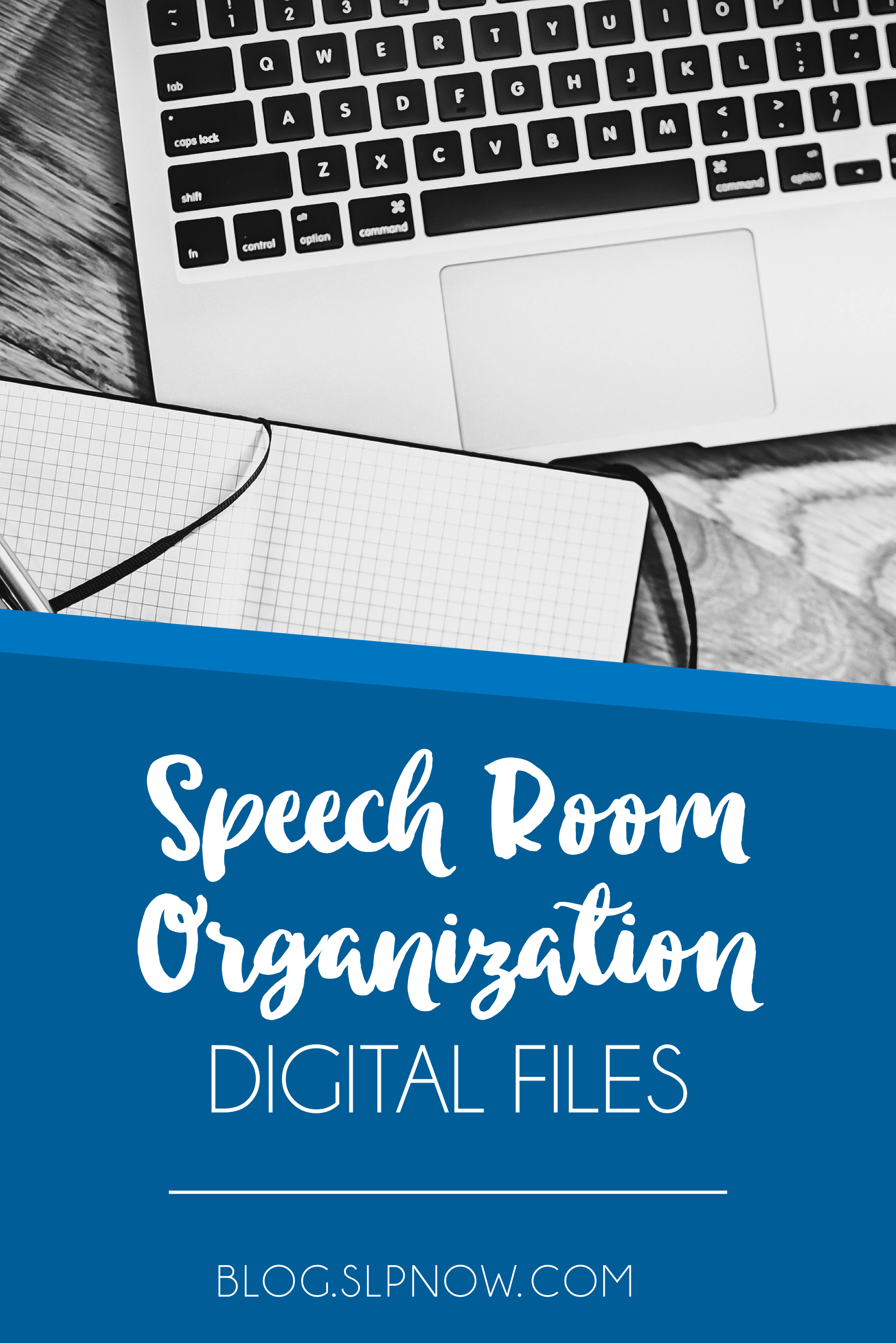 """I know I can't be alone in asking, """"How do I organize my digital therapy materials?"""" If you're like me and buy or download way too many resources, then you need to check out my 5-step tutorial in this post! It will help you organize all of those digital files to avoid clutter on your computer."""