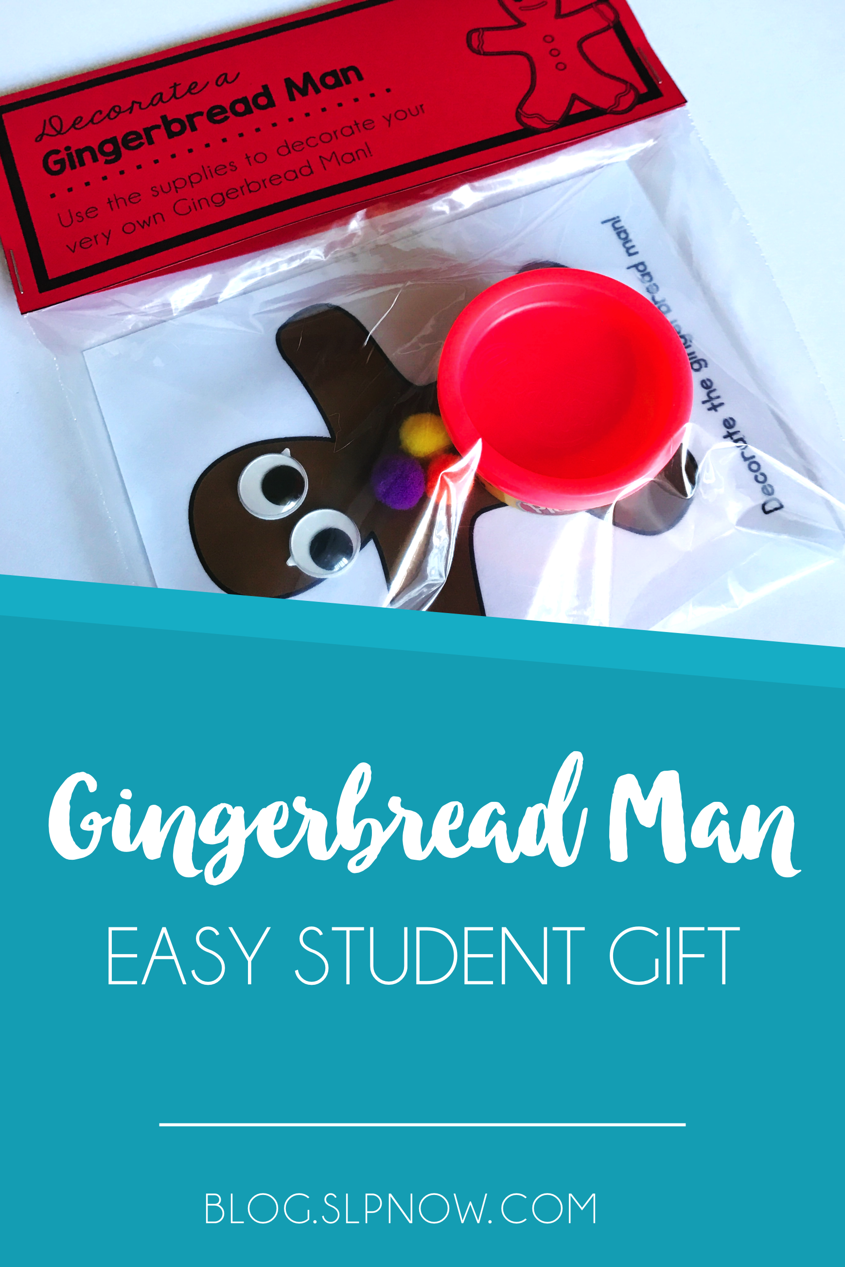 A gingerbread man theme makes for the perfect opportunity for an easy student gift! Watch the video inside this blog post to learn about the quick and easy student gift that I made for my kiddos before the holiday break.