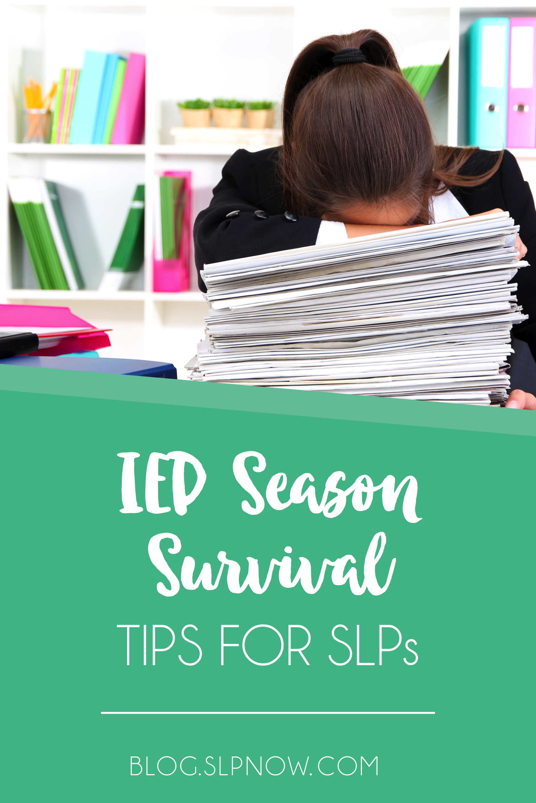 As far as an SLP's job goes, there's not much that's more trying than IEP season. I'm sharing my top five tips for helping you survive IEP season. Some of these tools you already have within yourself - you just need to implement them! Get the full list inside this blog post.