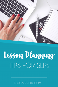 Wondering how to make fun, engaging, AND effective speech therapy lesson plans week after week? Click to sign up for FREE lesson planning tips and resources!