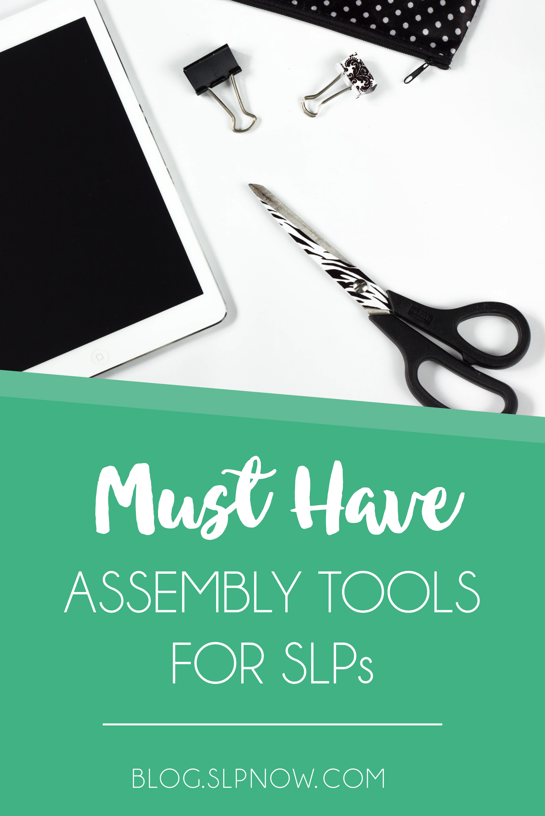 As SLPs we spend a fair amount of time prepping materials. Here is a round-up of my favorite assembly tools that help you prepare lots of different types of materials. Many of these tools can be used again and again for years, saving you money in the long run!