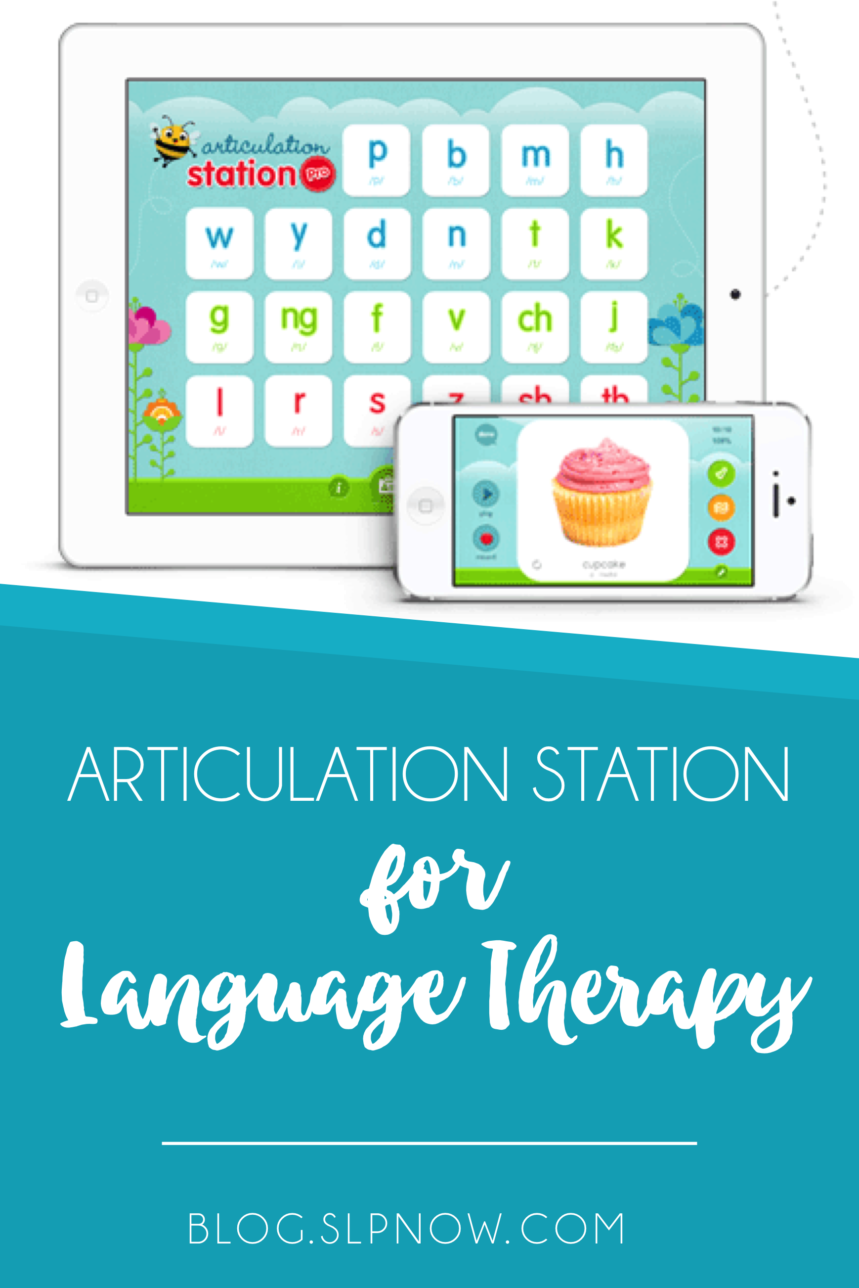 Are you looking for a way to jazz up your articulation instruction and practice? I recommend that you check out Articulation Station, an awesome app that makes articulation easy and fun. In this blog post, I'm describing what it is, how it works, and goals it helps you target. Click through to get all the details!