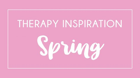 Springtime is fresh and new, and with it come many new ideas for speech therapy. Check out this post with tips and activities for therapy inspiration - just what you need as we near the end of the school year!