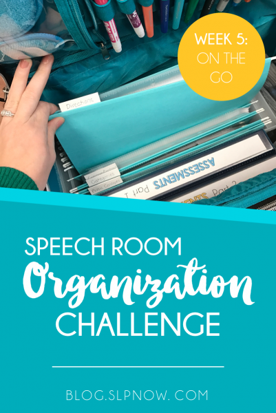 We've been learning how to get organized in our speech therapy rooms as part of my Speech Room Organization series, and this week we're talking more about organizing speech therapy materials, this time by using a therapy tote! Learn a few ways you can organize various materials in a tote and watch a couple of video tutorials!