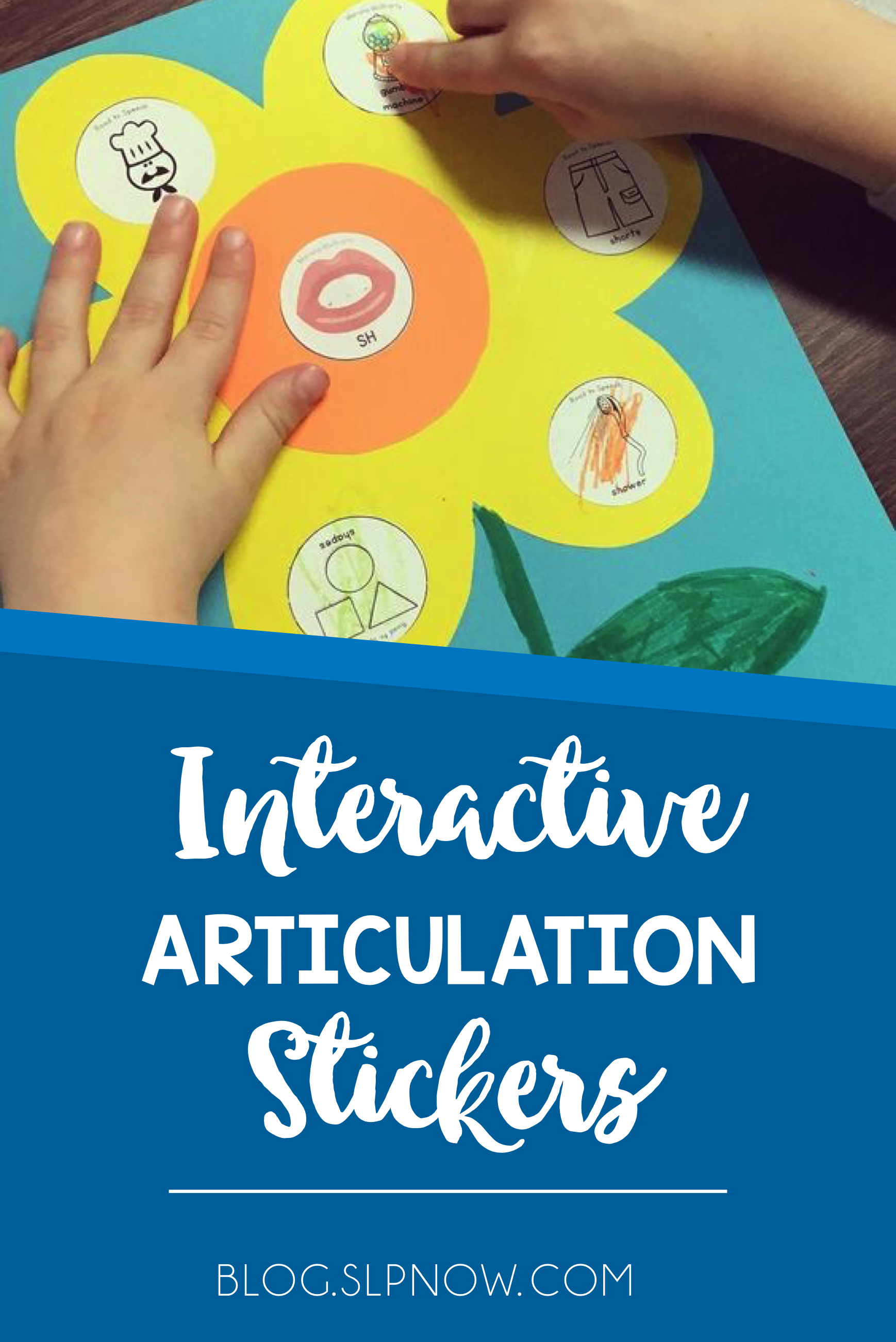 What kid doesn't love sticker activities? I'm telling you all about my new interactive articulation sticker in this post, and it's perfect for you to add to your speech and language therapy room. Learn about what's included and check out my recommended materials here!