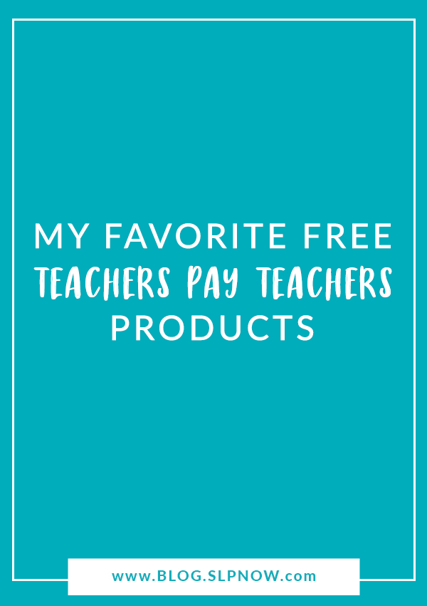 Not sure where to start on Teachers Pay Teachers? Check out this list of my favorite FREE TPT products!