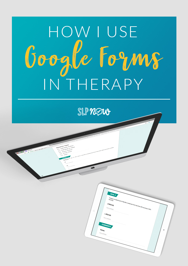 Are you looking to take your therapy data tracking more digital? I provide a tutorial on how to start using Google Forms in your speech therapy room, as well as my pros and cons to this system. This system is a great way to reduce paper waste and go green in your room!