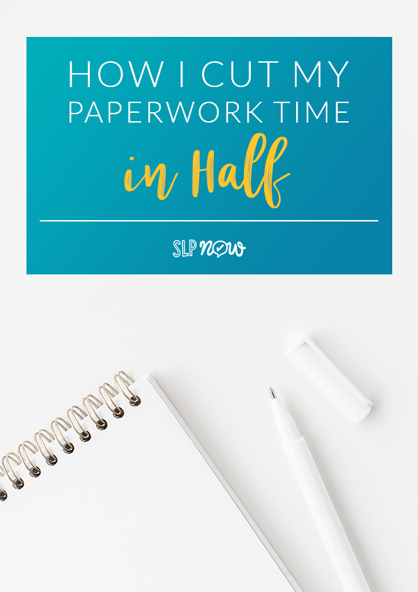 Do you LOVE writing IEPs? I didn't think so. Read all about a tool that could potentially cut SLP paperwork time in HALF!