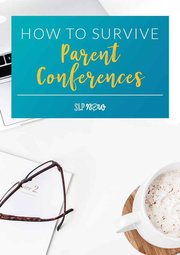 Are parent conferences coming up? Check out these five quick tips for SLPs to make parent conference a breeze - and easy for you to manage!