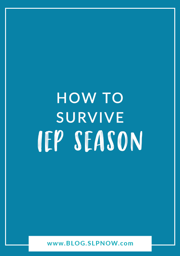 Feeling overwhelmed? Join this SLP for 5 quick tips to survive IEP season and banish paperwork overload!
