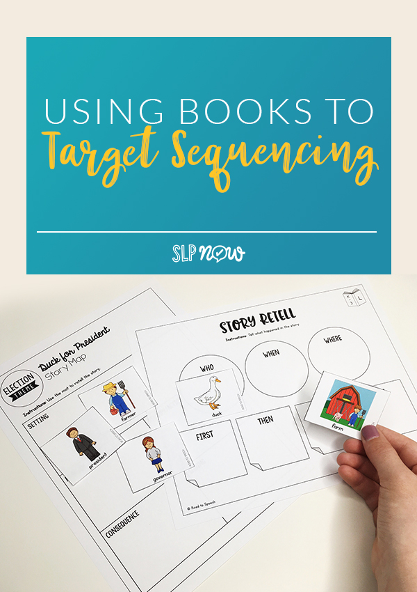 Using books to target sequencing is an excellent way to bring in lots of tools and new techniques to your instruction - and your students will love the variety! I'm sharing my favorite ways to use books to target sequencing in this blog post, so give it a read and add in the comments how you use books for this purpose!