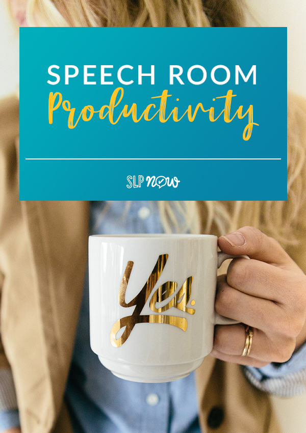 Are you feeling overwhelmed by everything you need to do? Rein in your speech room productivity with these six suggestions for systems and routines that all SLPs should try to employ. Once you get your organization habits in check, these systems and routines will take care of your productivity!