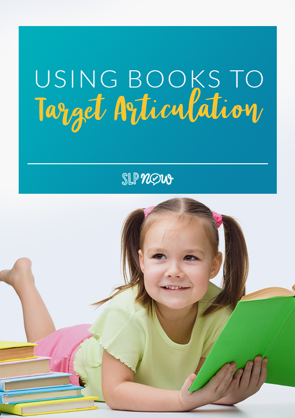 Using books to target articulation skills in speech therapy is a powerful way to have students practice and strengthen their articulation goals. Learn how I use books to target articulation in this post, and share in the comments whether you use books for articulation practice!