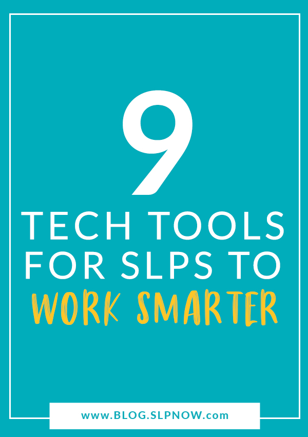 Want to work smarter, not harder? Check out this list of time-saving tools for SLPs!