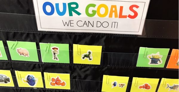 Student goals are just as important in the speech room as they are in the regular classroom. They can feel overwhelming and hard to manage, but I've found an easy system that I'm sharing in this post. Click through to read about it and to download a freebie!