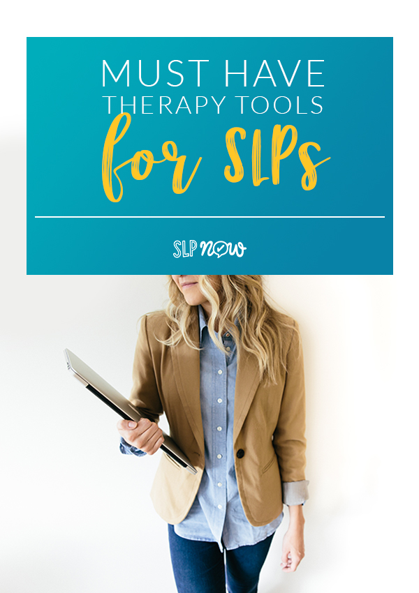 Which tools are you using in your speech therapy room to make your job easier? Which tools do you still need? Check out this post to see my top 10 must-have therapy tools for SLPs.
