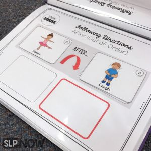 MStruggling with those following directions goals? Of course, Johnny can follow 2-step directions in the therapy room with 80% accuracy, but why does his teacher say he can't follow ANY directions?! Let's talk about some strategies to facilitate generalization and promote student success with this skill in speech therapy!