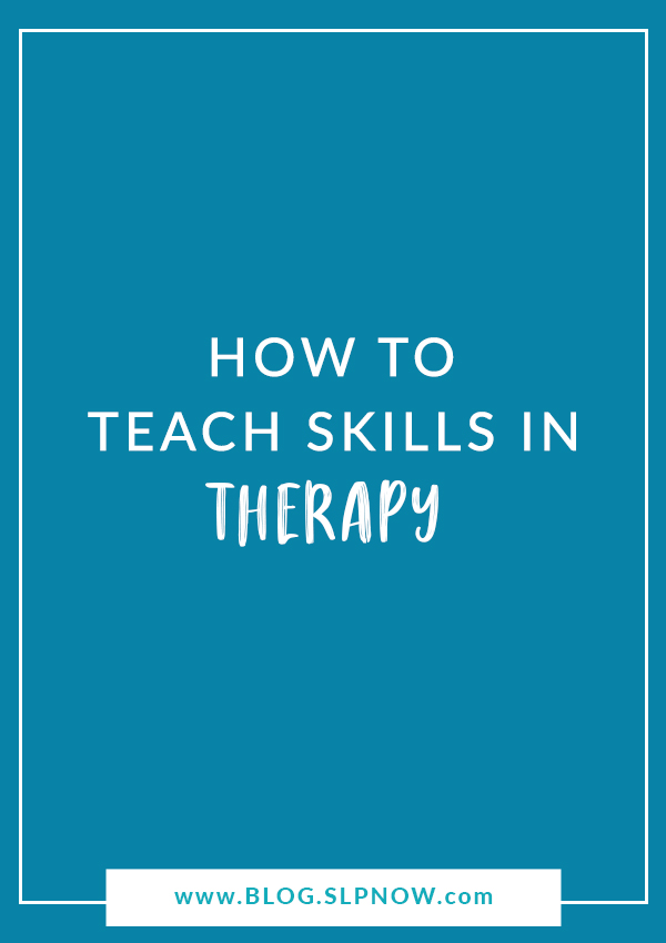 Feeling overwhelmed in your speech therapy sessions? Not sure how to effectively introduce new skills? Check out this post for some strategies to increase your confidence and reduce the overwhelm!
