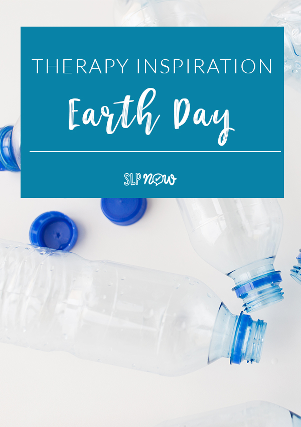 Need ideas for celebrating and recognizing Earth Day in your speech therapy room? I've got you covered with several suggestions inside this blog post! Be sure to click through to get a few fun (and many free!) ideas!