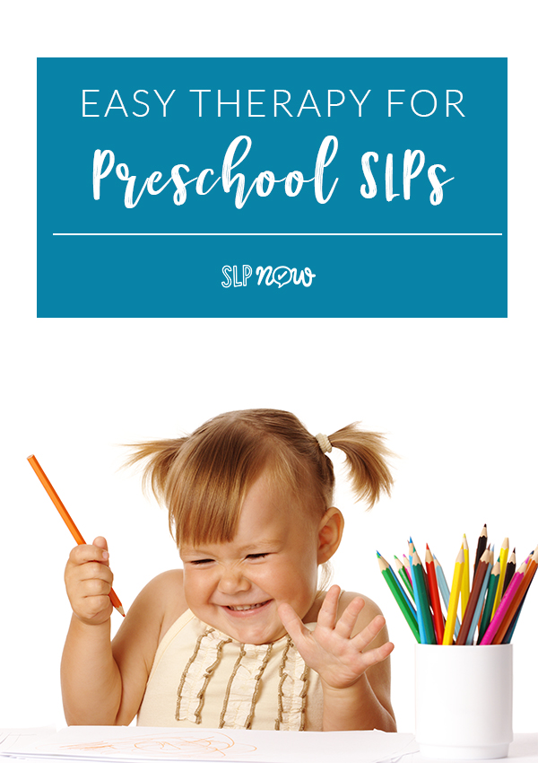 Looking for some tools to simplify therapy planning? This preschool SLP shares some of her favorite strategies!