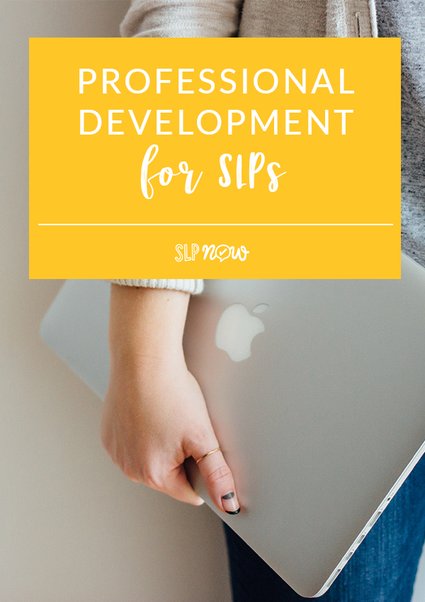 Looking for some professional development for SLPs? These are my three favorite options for SLPs on a budget! Click through to read all three tips and get some ideas on how to best utilize them!