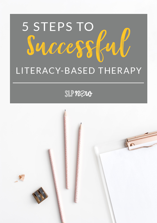Want to learn more about literacy-based therapy? We're sharing five steps to successful literacy-based therapy during the SLP Summit! Click through to learn how to register for the summit and catch our presentation.