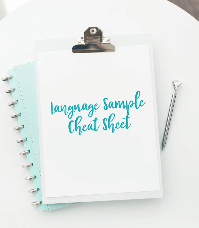 language_sample_cheat_sheet