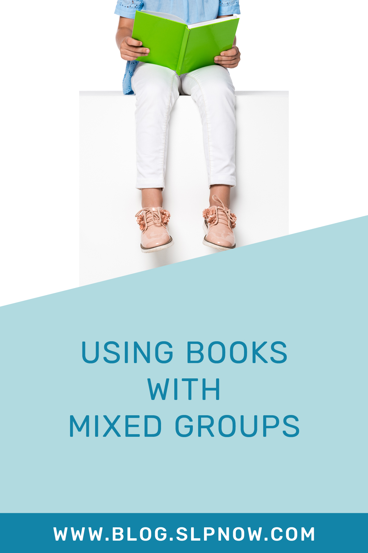 Mixed groups can be a challenge, including figuring out how to use books with mixed groups. How do you hit all of your speech students' targets with one book?! This blog post from an experienced SLP shares how to use books with mixed groups in speech therapy. Click through to read it!
