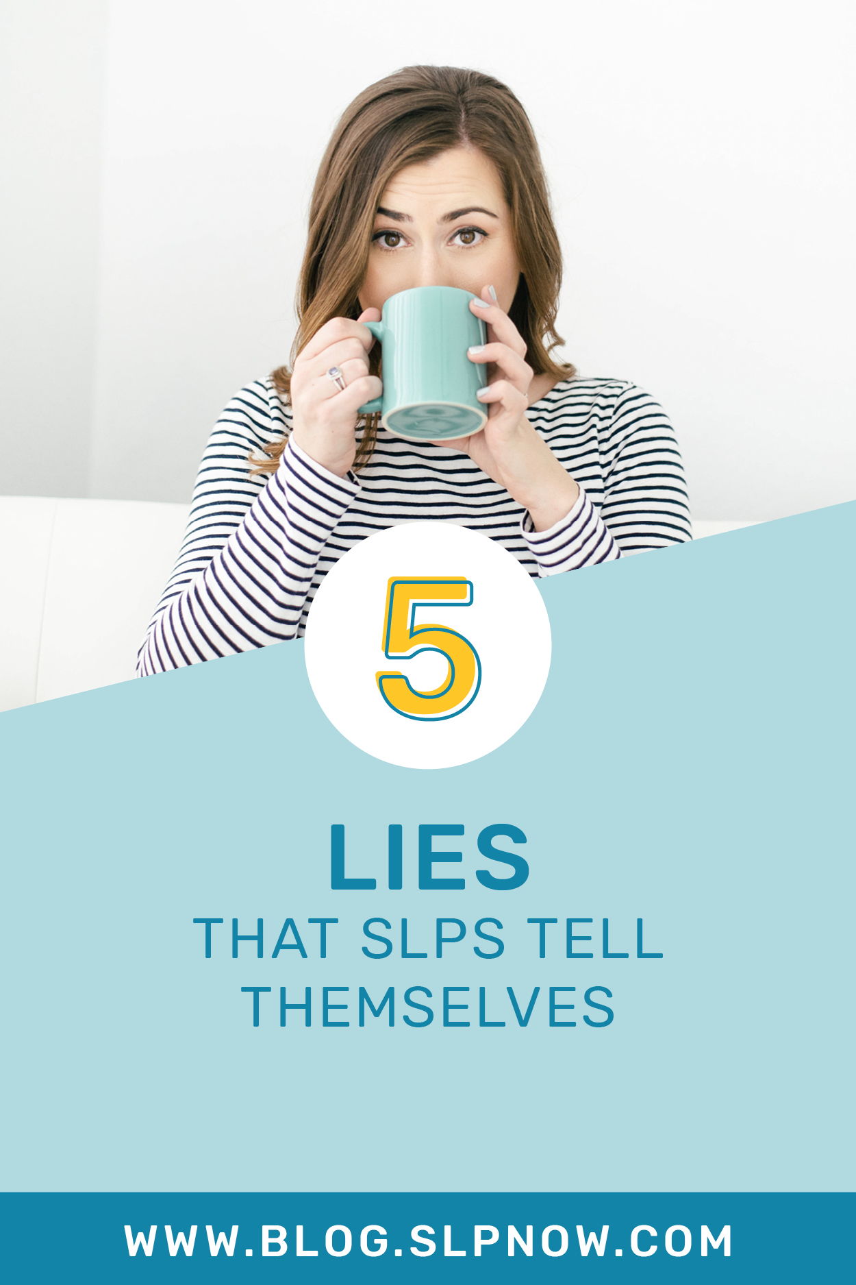 We ALL know that there are a lot of SLP lies floating around -- lies that we tell ourselves about what we can or cannot get done for our caseloads. This blog post shares some of the more common lies that SLPs tell themselves AND it provides tips for overcoming those obstacles. Click through to learn these tips to help you become a more efficient speech therapist!