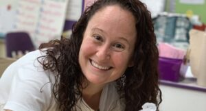 """In this week's podcast episode, Dr. Lyndsey Zurawski (SLP.D + creator of the popular SLP blog, Speech to the Core) sits down with Marisha to give SLPs a crash course in classroom-based service delivery, and inclusive therapy practices. SLPs will walk away with practical tips and strategies to """"push in"""" to classrooms and successfully collaborate with teachers, so that their students can get the most out of their therapy sessions."""